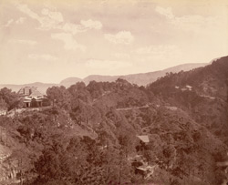 Kasauli, 1885. The Commissariat Bungalow.